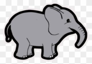 Free PNG Grey Elephant Clip Art Download