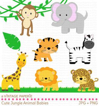 Safari jungle animals.