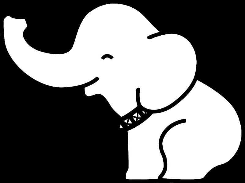 Elephants clipart tribal.