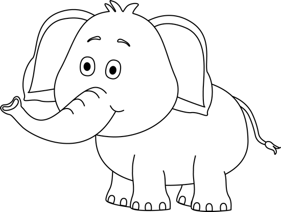 Cute elephant clip.