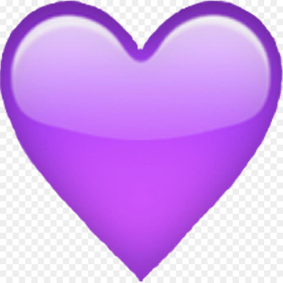 Iphone heart emoji.