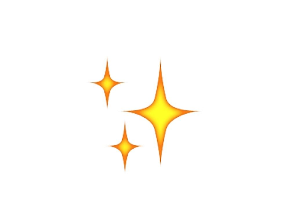 Sparkle emoji shaliah.
