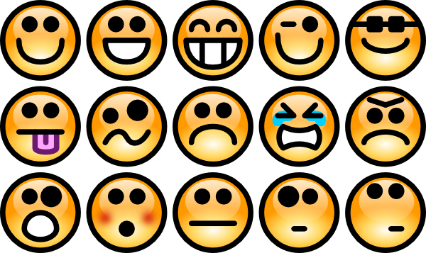 emotion clipart cartoon