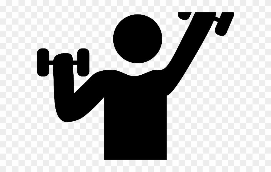 Exercising clipart black white. Exercising clipart black white. Dumbbells fitness goal and