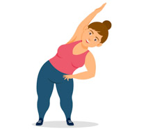exercise clipart exercising