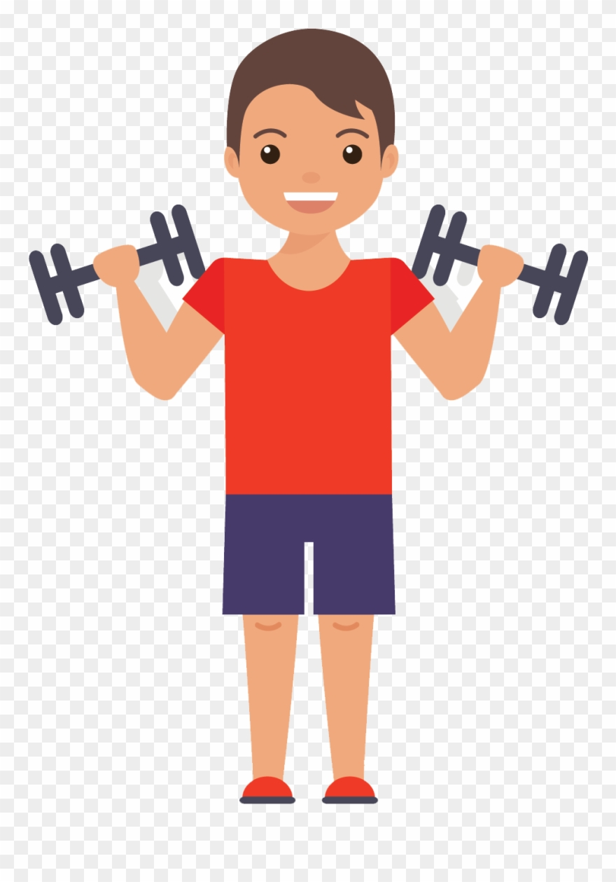 exercising clipart fitness