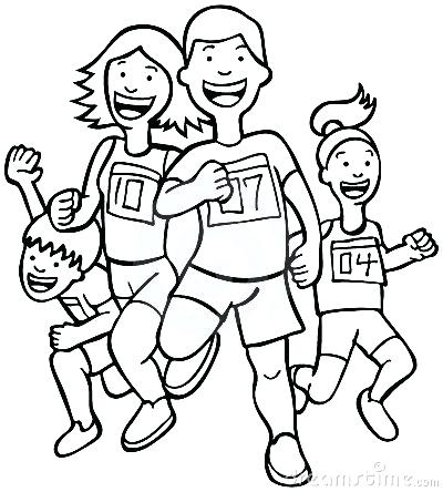 Exercising clipart black white. Exercise images free download