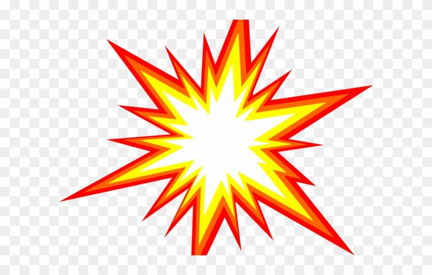 Explosion clipart starburst.