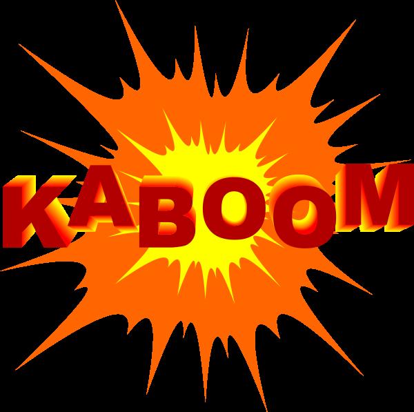Free exploding bomb.