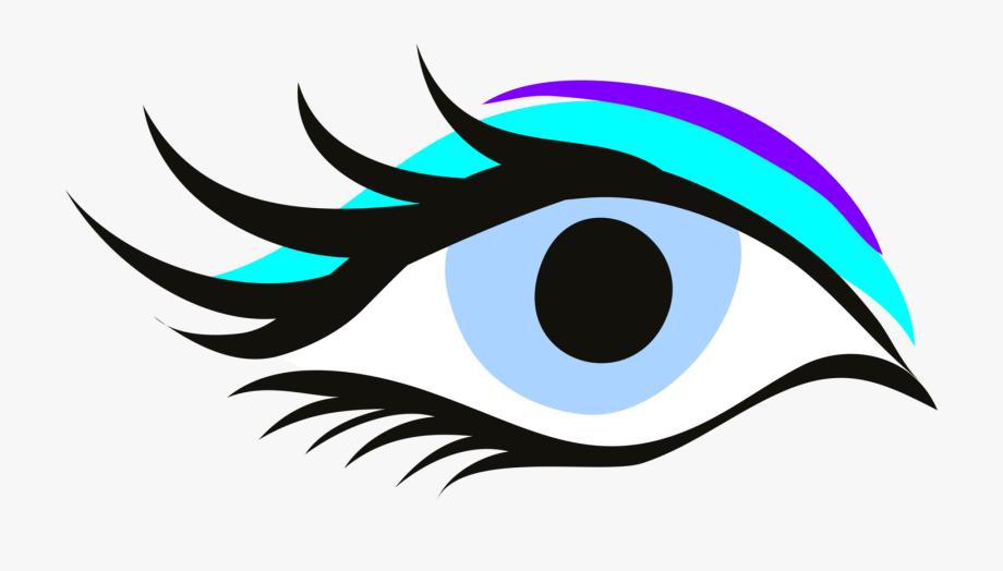 Eyelash clipart beautiful.