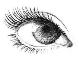 Beautiful eye stock.