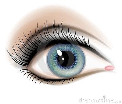 Free human eye.