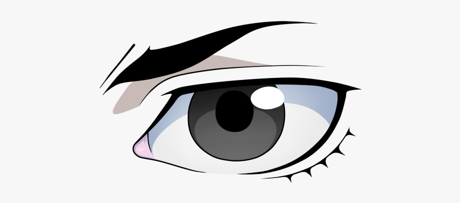 Eye clipart male. Anime eyes png transparent