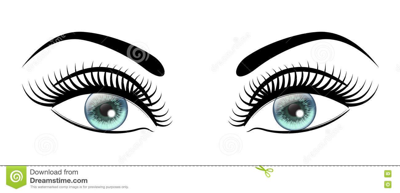 Beautiful eye clipart.