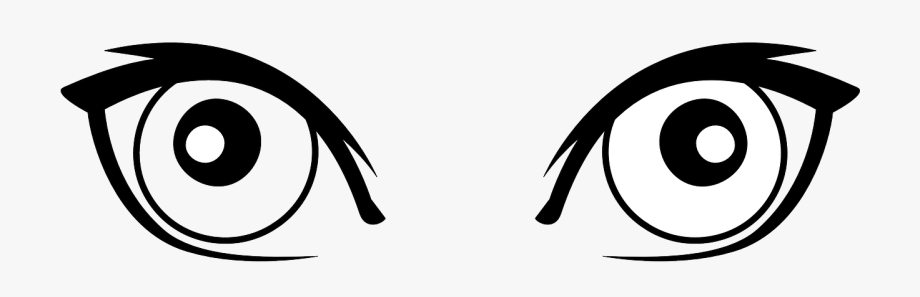 Eyes clipart black and white animated. Pictures cat s eye