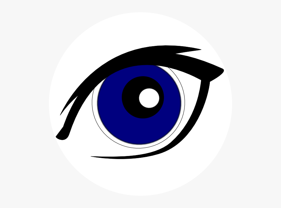 Blue eyes clip.