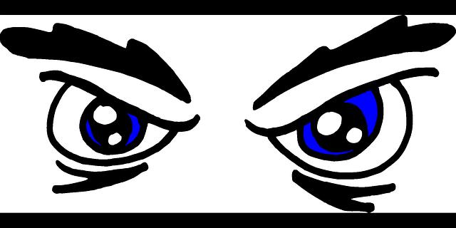 Eyes red eye.