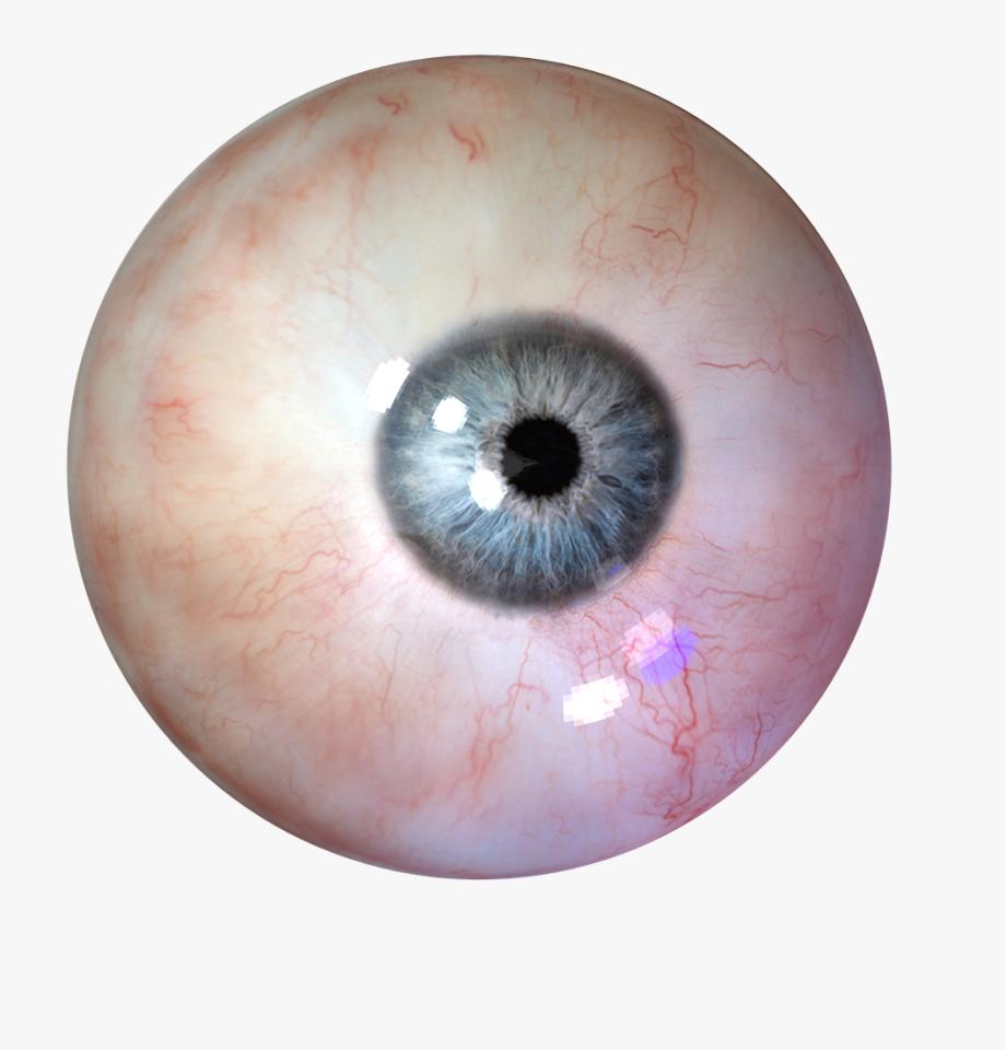 Eyeball clipart coloured.