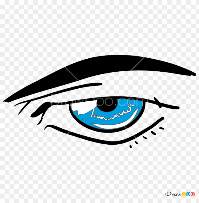 Eyes clipart male. Anime transparent png image