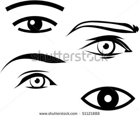 eyes clipart male
