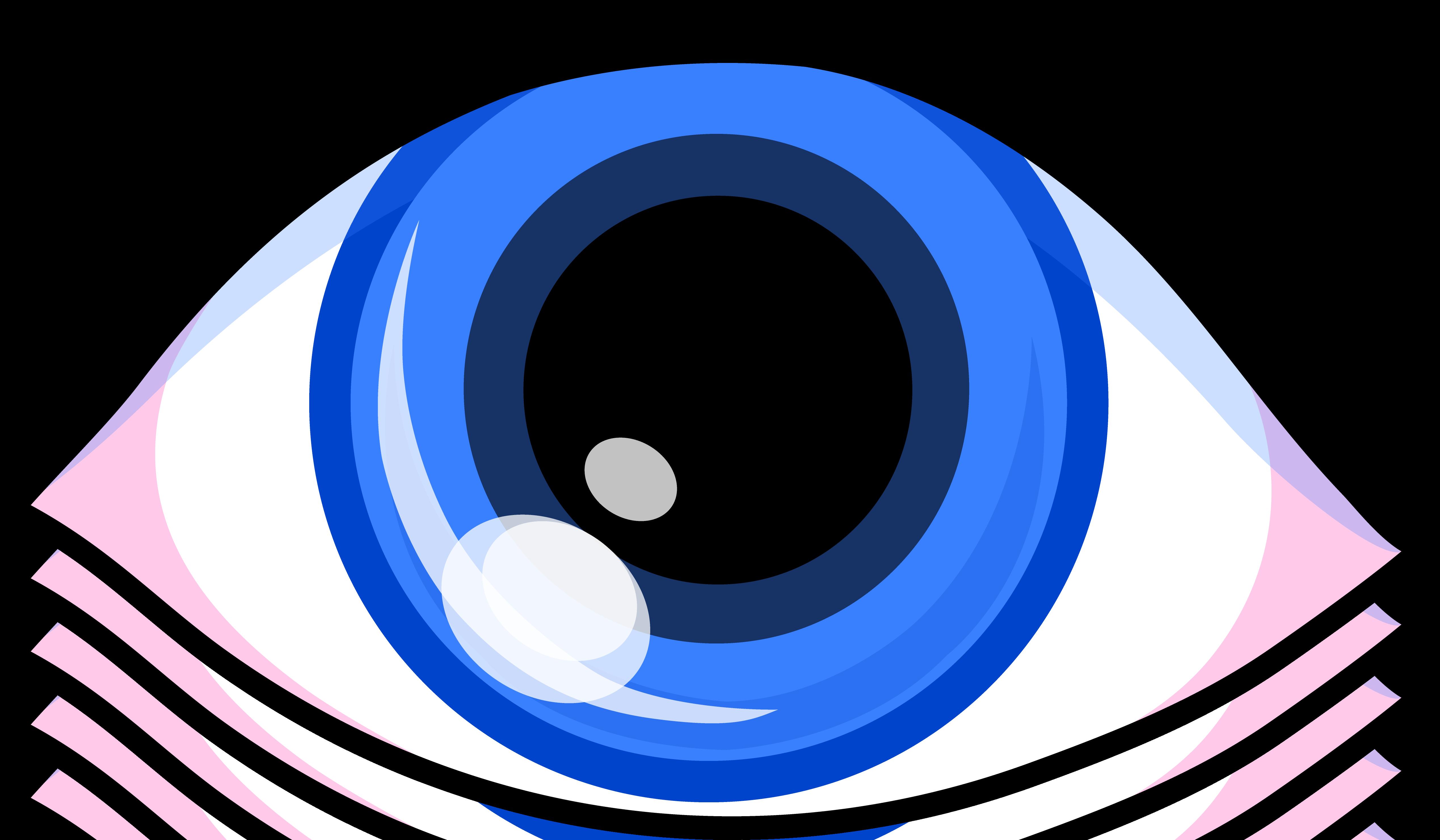 Simple blue eye.