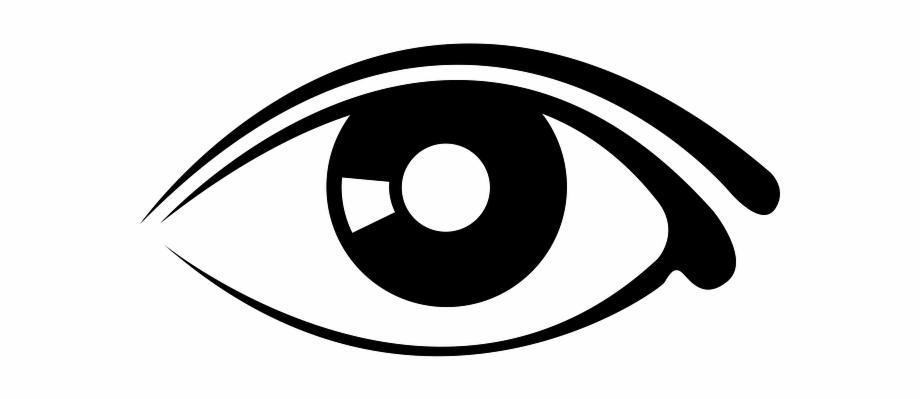 Eye clipart transparent background.