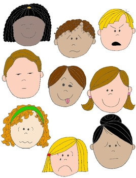 emotion clipart cute