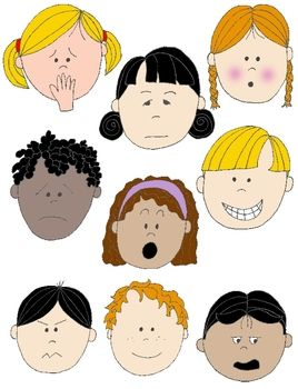 emotion clipart kid