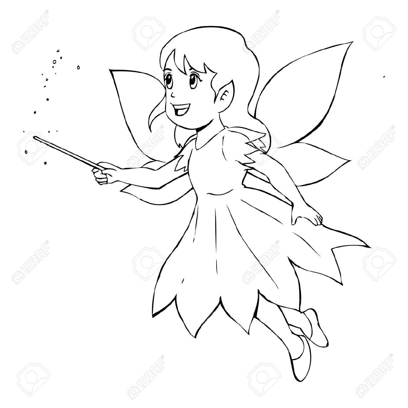 Fairy clipart free book. Simple illustration of angels