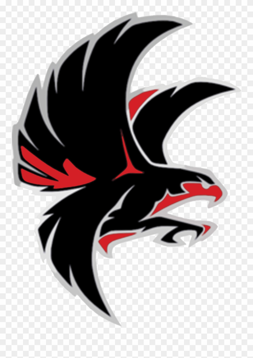 Falcon school mascot.