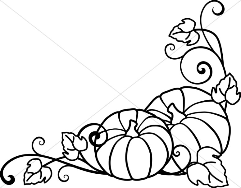 fall clipart black and white welcome