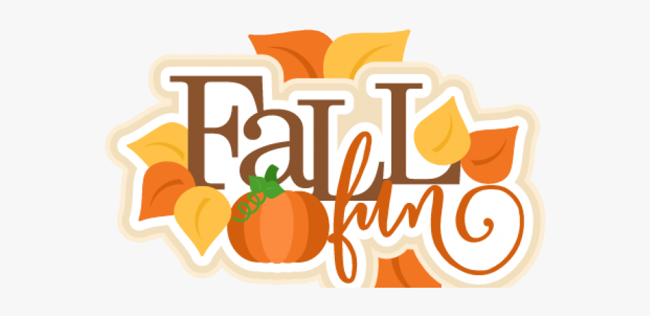 Fall clipart fun.