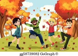 Fall clip art.