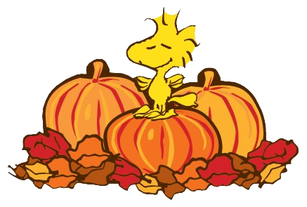 Fall snoopy clipart.