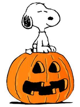 Halloween peanutss cartoon.