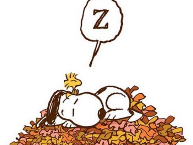 Autumn clipart snoopy.