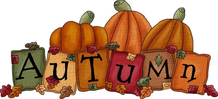 Fall clipart thanksgiving. Autumn on happy pilgrims