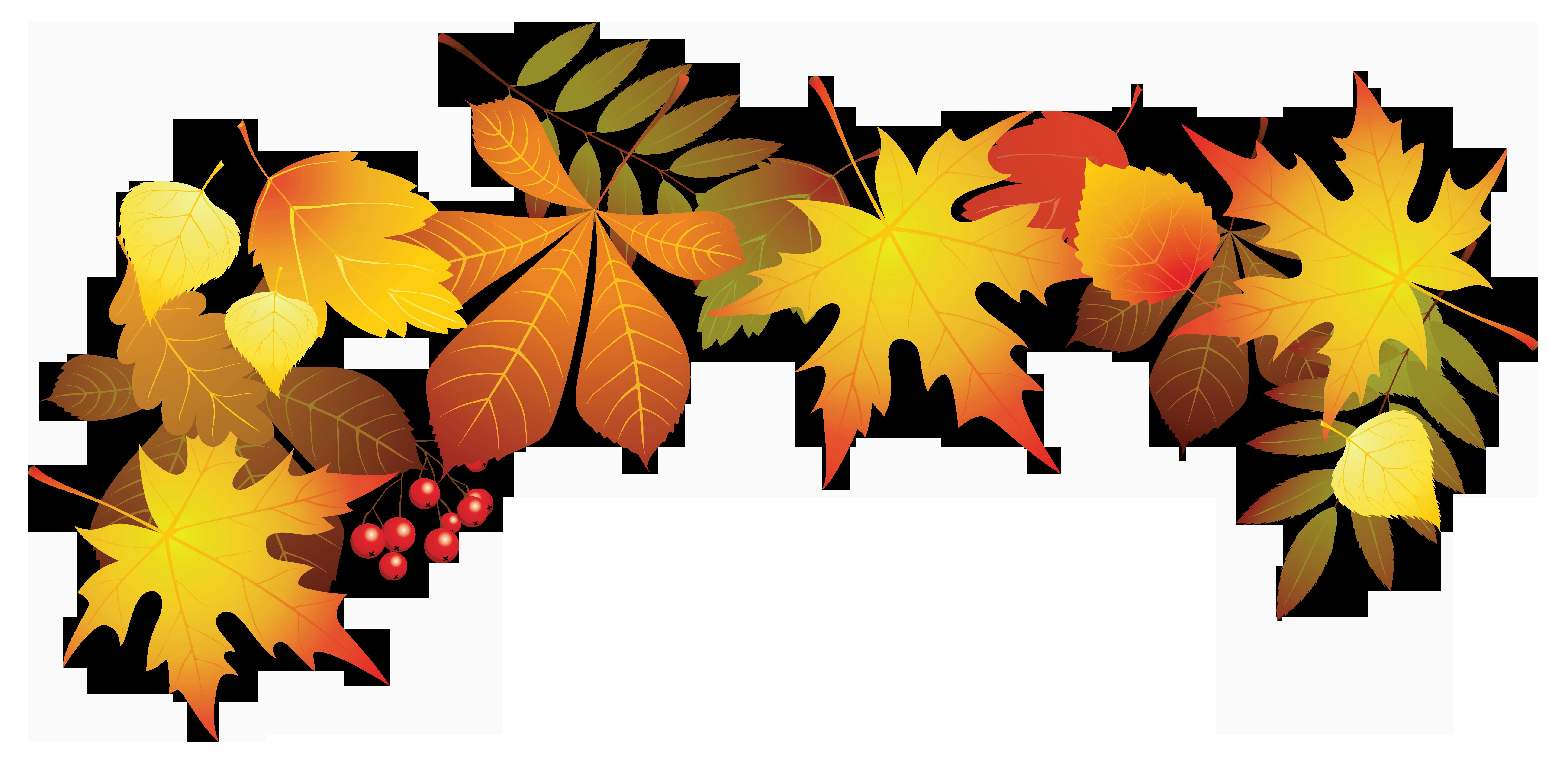 Autumn leaf color Clip art