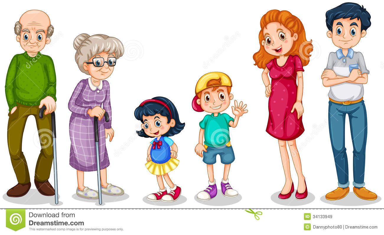 faces clipart free family