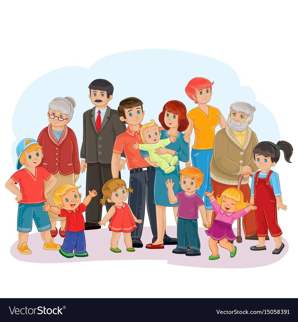Big happy family.