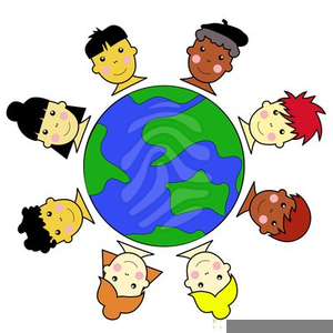 Free multicultural clipart.