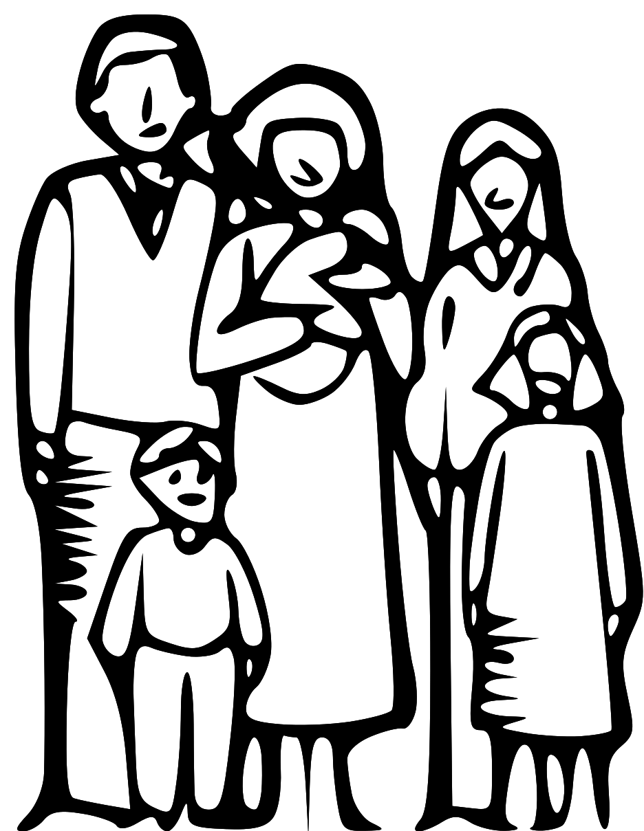 Family clipart white. Family clipart white. Best black and clipartion