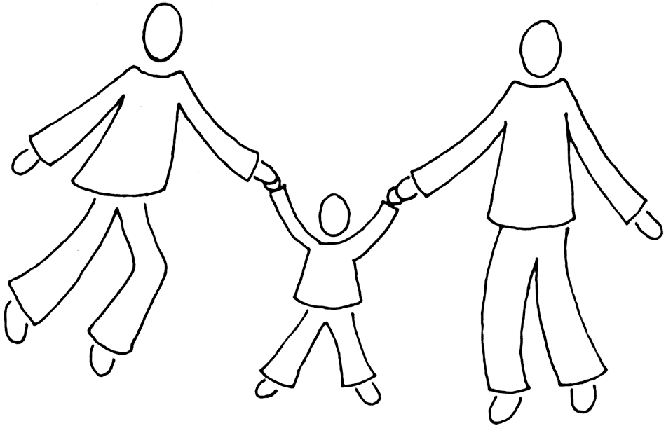 Family clipart white. Free images download clip