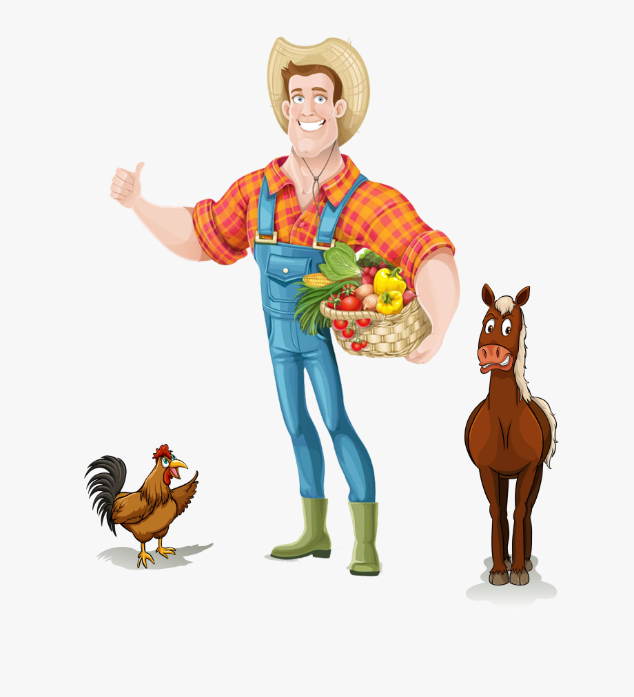 Agriculture Clipart Chinese Farmer