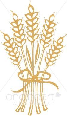 Wheat stalk clip art.