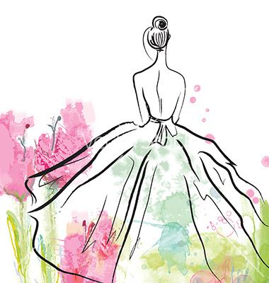 fashion clipart sketch
