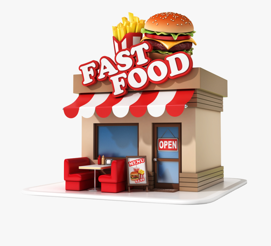 Fast food png.