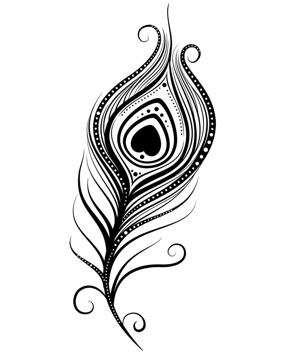 Feather clipart peacock. Free download clip art