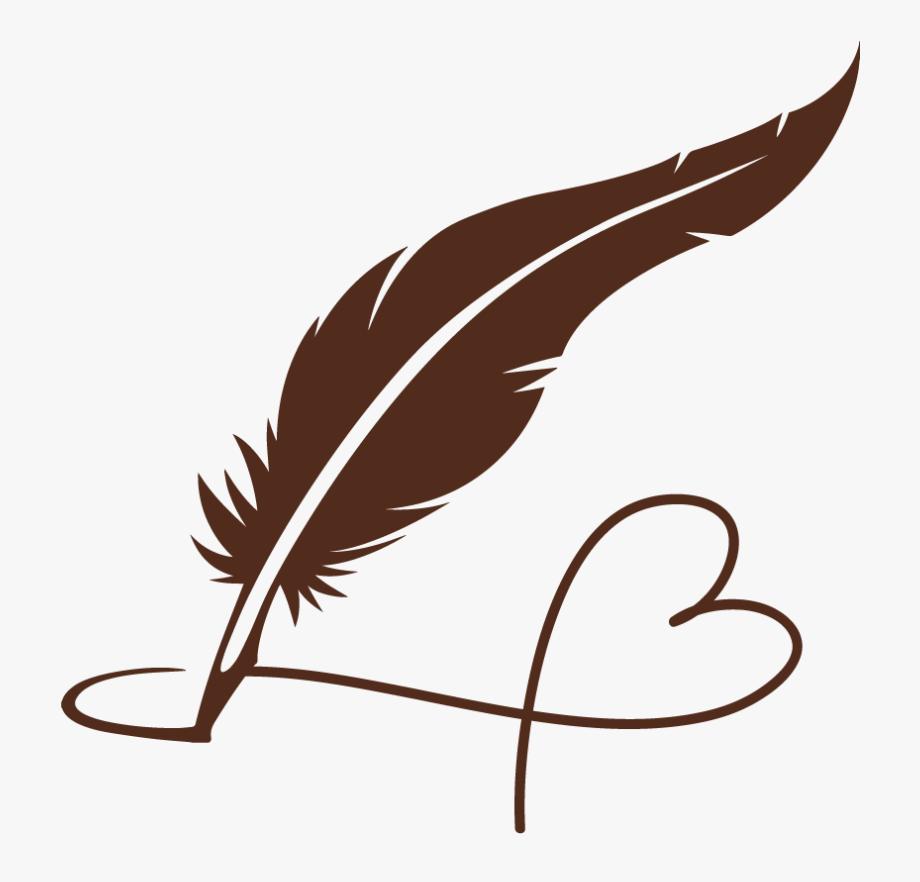 feather clipart pen
