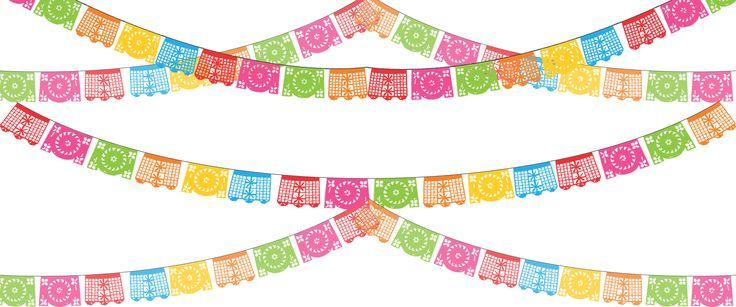 fiesta banner clipart bunting